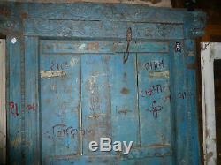 Ancienne porte indienne 132 x 202 cm