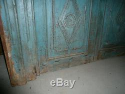 Ancienne porte indienne 138 x 200 cm