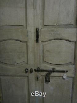 Ancienne porte indienne 150 x 280 cm