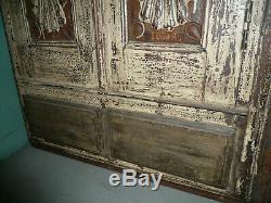 Ancienne porte indienne 155 x 82,5 cm