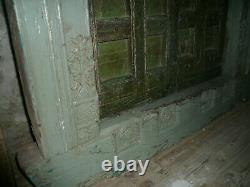 Ancienne porte indienne 195 x 124 cm / livraison possible