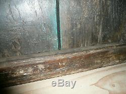 Ancienne porte indienne 54 x 60cm