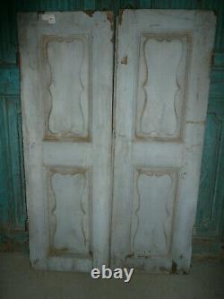 Ancienne porte indienne 60 x 90 cm