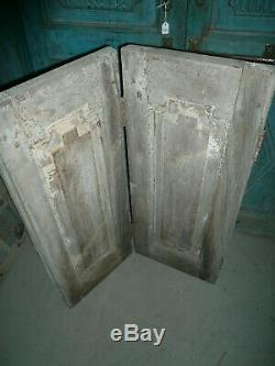 Ancienne porte indienne 62 x 77 cm