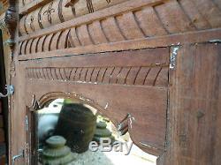 Ancienne porte indienne 72 x 124 cm