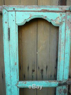 Ancienne porte indienne 86 x 161 cm