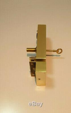 Ancienne serrure bronze / laiton / porte / chateau