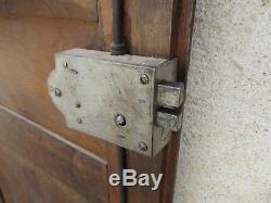 Anciennes Paire De Portes D'armoire En Bois De Noyer Dans Le Style Empire