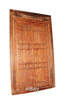 Antique Indien Portal Um 1920