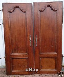 Belle paire de portes anciennes