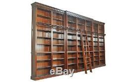 Bibliothèque de 660x 290 cm en orme