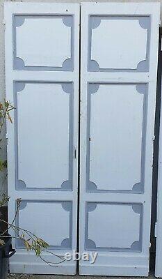 Boiserie, Paire de porte en chêne d'époque Louis XIV