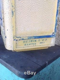 Boite aux lettres PTT La Poste réforme loft déco de 1961 Dejoie Nantes complète