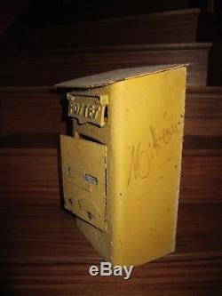 Boîte aux lettres anciennes