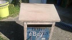 Boite lettre poste PTT facteur postier briefkasten letter box art populaire