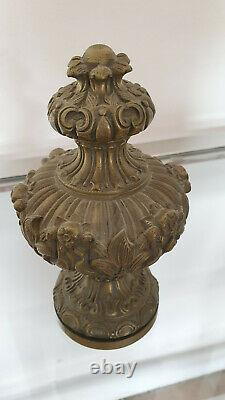 Boule D'escalier Bronze XIX