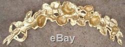Bronze d'Ornement 2 Branches de Chêne Corniche Architecturale