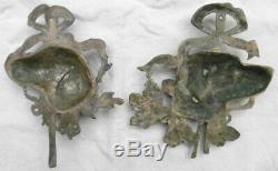 Bronze d'Ornementation Style Louis XVI Chiens de Chasse genre Setters