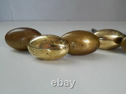 Carré 6mm Lot de 3 Ancienne Paire + 1 Poignée Olive + 1 paire perlée