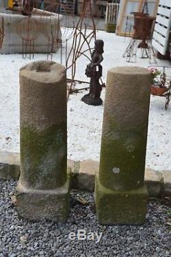 Chasse roues de portail en pierre de FRANCE
