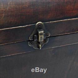 Coffre au trésor Table basse en contreplaqué brun O8Q8