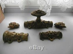 Cremone En Bronze Doree N°2