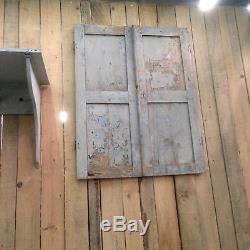 Deux petite portes de placard patine original. XX siècle