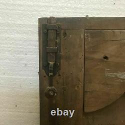 Deux portes basses en noyer Portes de placards XVIII siècle