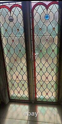 Double Vitraux Porte Fenêtre