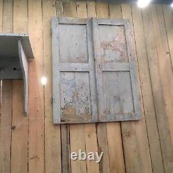 Double petite portes de placard patine original. XX siècle
