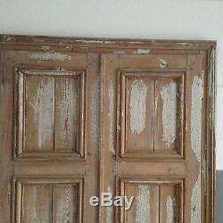 Double porte / Porte de placard / Matériaux anciens
