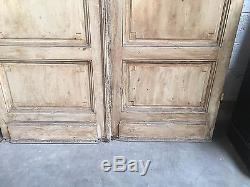 Double porte / Porte de placard / Matériaux anciens / Architecture/ Boiserie