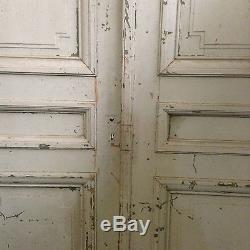Double porte / Portes anciennes / Porte de passage