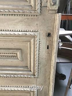 Double porte de séparation /Porte ancienne / Matériaux anciens /