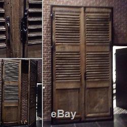 Double portes / Façade de placard / Porte de passage / Volet a persienne