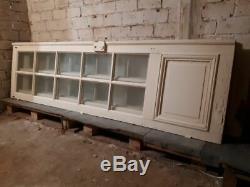 Double portes vitrées hausmaniennes (2 paires)