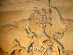 Enorme arche indienne en pierre / Indian stone arch / 310 x H302 cm