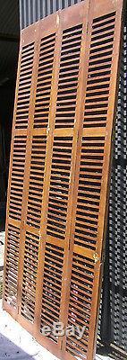 Ensemble de volets bois persiennes 4 vantaux