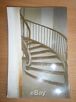 Escalier colimaçon double limon 19 ieme chêne