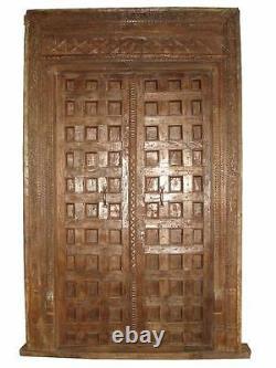 Exceptionnel Kassettentür 130 Années Vieux de la Province Gujarath