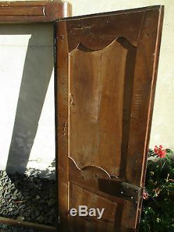 Facade de placard en merisier ancien