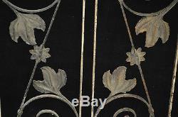 GRILLES DE PORTE EN FER / 88 CMS DE HAUT X 30 CMS DE LARGE (pièce)
