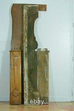 Grande Cheminée Ancienne Louis XV Cerisier Arbalète Déco Architecte Ep. 18 ème