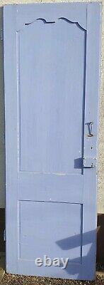 Grande porte Louis XV / 225 cm / sapin peint. Boiserie ancienne