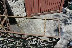 Grille fer forgé XIX siècle décoration cache radiateur autre