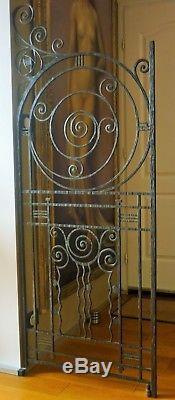 Grilles Fer Forge Séparation Art Déco 1930