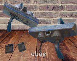 Gros Lot de Serrure avec poignée Ancienne de Magasin Gollot Art Deco + 1 clé