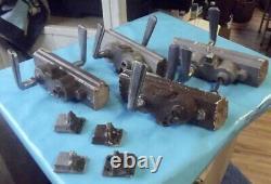 Gros Lot de Serrure avec poignée Ancienne de Magasin de style Art Deco + 2 clés