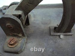 Grosse Sonnette Tire Cloche En Métal Chrome N°5
