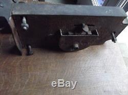 Grosse serrure ancienne de chateau ou manoir a double clés XVIII XIX